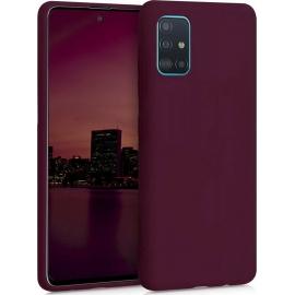 KW TPU Silicone Case Samsung Galaxy A51 - Bordeaux Violet (51196.187)
