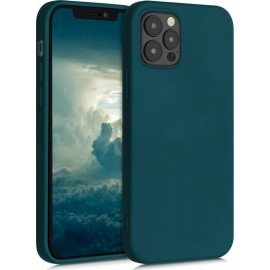 KW TPU Silicone Case iPhone 12 / 12 Pro - Teal Matte (53844.57)