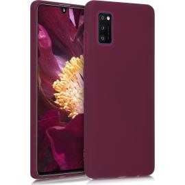 KW TPU Silicone Case Samsung Galaxy A41 - Bordeaux Violet (52251.187)