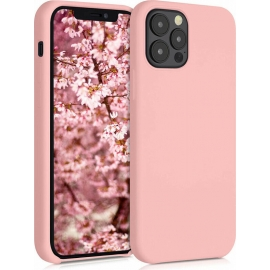 KW TPU Soft Flexible Rubber iPhone 12 / 12 Pro - Grapefruit Pink (52641.199)
