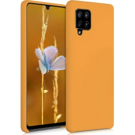 KW TPU Soft Flexible Rubber Samsung Galaxy A42 5G - Apricot (53812.201)