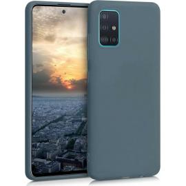 KW TPU Silicone Case Samsung Galaxy A51 - Slate Grey (51196.202)