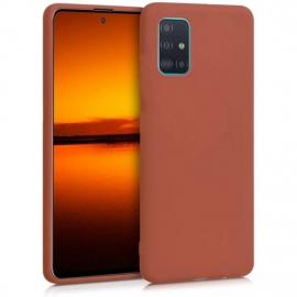 KW TPU Silicone Case Samsung Galaxy A51 - Cinnamon Stick (51196.185)