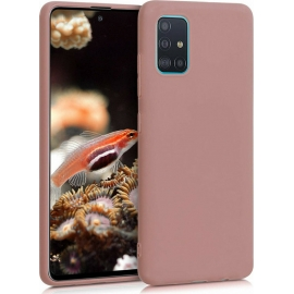 KW TPU Silicone Case Samsung Galaxy A51 - Rose Tan (51196.193)