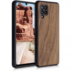 KW Wooden Case Samsung Galaxy A42 5G - Dark Brown (53808.18)
