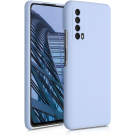 KW TPU Soft Flexible Rubber Silicone Case Huawei P Smart 2021 - Light Blue Matte (53632.58)