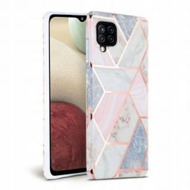 Tech-Protect TPU Case Samsung Galaxy A12 - Marble Pink