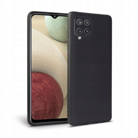 Tech-Protect Icon TPU Case Samsung Galaxy A12 - Black