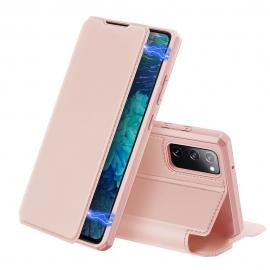 DuxDucis Skin X Bookcase Samsung Galaxy S20 FE - Pink