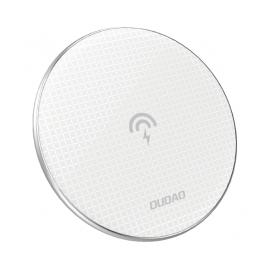 Dudao Stylish Ultra Thin Wireless Charger Qi Inductive Pad 10 W - White (A10B)