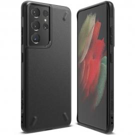 Ringke Onyx Silicone Case Samsung Galaxy S21 Ultra - Black