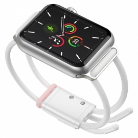 "Baseus Let""s Go strap Apple Watch 3/4/5/6/SE - White / Pink (LBAPWA4-B24)"