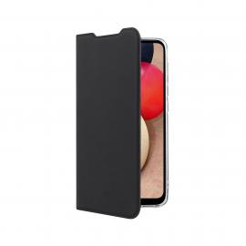 Vivid Book Case Samsung Galaxy A02s - Black (VIBOOK162BK)