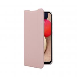 Vivid Book Case Samsung Galaxy A02s - Rose Gold (VIBOOK162RG)