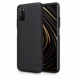 Nillkin Super Frosted Shield Case & kickstand Xiaomi Poco M3 - Black