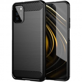 Tech-Protect TPU Carbon Case Xiaomi Poco M3 - Black