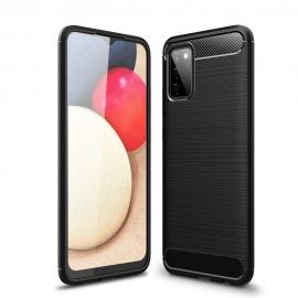 Tech-Protect TPU Carbon Case Samsung Galaxy A02s - Black