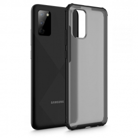 Tech-Protect Hybrid shell Samsung Galaxy A02s - Frost Black