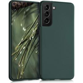 KW TPU Silicone Case Samsung Galaxy S21 - Moss Green (54055.169)