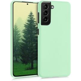 KW TPU Silicone Case Samsung Galaxy S21 - Mint Matte (54055.50)