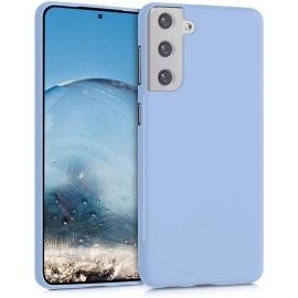 KW TPU Silicone Case Samsung Galaxy S21 Plus - Light Blue Matte (54065.58)