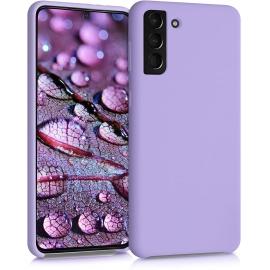 KW TPU Soft Flexible Rubber Samsung Galaxy S21 Plus - Lavender (54066.108)