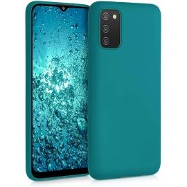 KW TPU Silicone Case Samsung Galaxy A02s - Teal Matte (54045.57)