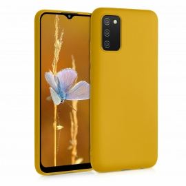 KW TPU Silicone Case Samsung Galaxy A02s - Honey Yellow (54045.143)