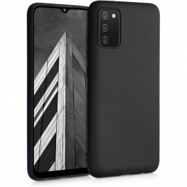 KW TPU Silicone Case Samsung Galaxy A02s - Black Matte (54045.47)