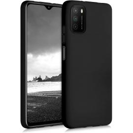 KW TPU Silicone Case Xiaomi Poco M3 - Black Matte (53971.47)