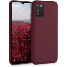 KW TPU Silicone Case Samsung Galaxy A02s - Tawny Red (54045.190)