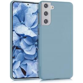 KW TPU Silicone Case Samsung Galaxy S21 Plus - Stone Blue (54065.206)