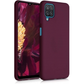 KW TPU Silicone Case Samsung Galaxy A12 - Bordeaux Violet (54048.187)