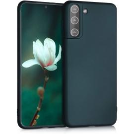 KW TPU Silicone Case Samsung Galaxy S21 Plus - Metallic Teal (54067.14)