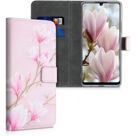 KW Wallet Case Samsung Galaxy A42 5G - Magnolias (53811.04)