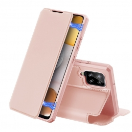 DuxDucis Skin X Bookcase Samsung Galaxy A42 5G - Rose Gold
