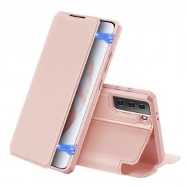 DuxDucis Skin X Bookcase Samsung Galaxy S21 5G - Pink