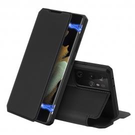 DuxDucis Skin X Bookcase Samsung Galaxy S21 Ultra 5G - Black