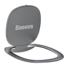 Baseus Ultrathin Self-Adhesive Ring Holder - Silver (SUYB-0S)
