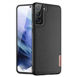 Dux Ducis Fino case covered with nylon material Samsung Galaxy S21 Plus 5G - Black
