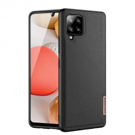 Dux Ducis Fino case covered with nylon material Samsung Galaxy A42 5G - Black
