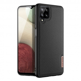 Dux Ducis Fino case covered with nylon material Samsung Galaxy A12 - Black