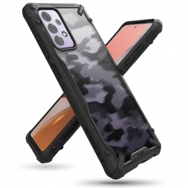 Ringke Dual-X Design Case Samsung Galaxy A72 5G - Camo Black