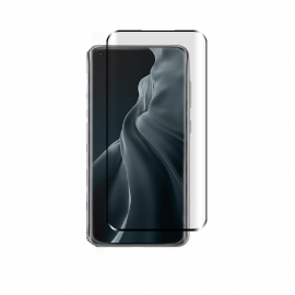 Vivid 3D Curved Tempered Glass Xiaomi Mi 11 5G - Black (VITEMP1733DBK)