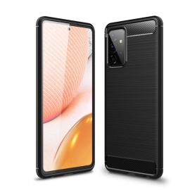 Tech-Protect TPU Carbon Case Samsung Galaxy A72 - Black