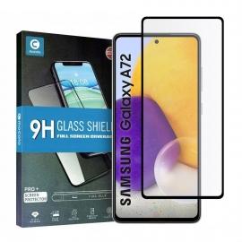 Mocolo Tempered Glass 9H Full Glue Samsung Galaxy A72 - Black