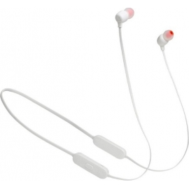 JBL Bluetooth Neckband Tune 125 White