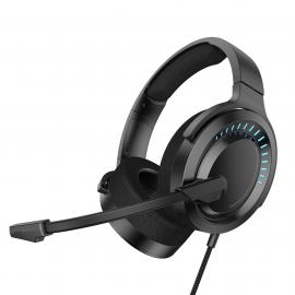 Baseus Gaming Wired Headphones 3D Gamo Black