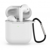 FoneFX Accessories Kit for Airpods with Rubber Case - White (FFX61WTPU)