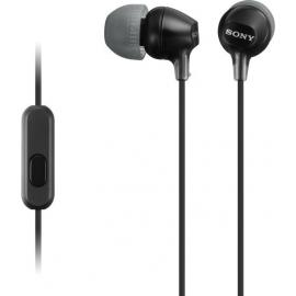 Sony Handsfree MDREX15AP - Black (MDREX15APB.CE7)